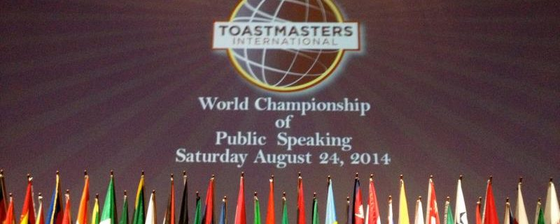 Belajar Public Speaking dari Toastmaster International World Championship of Public Speaking