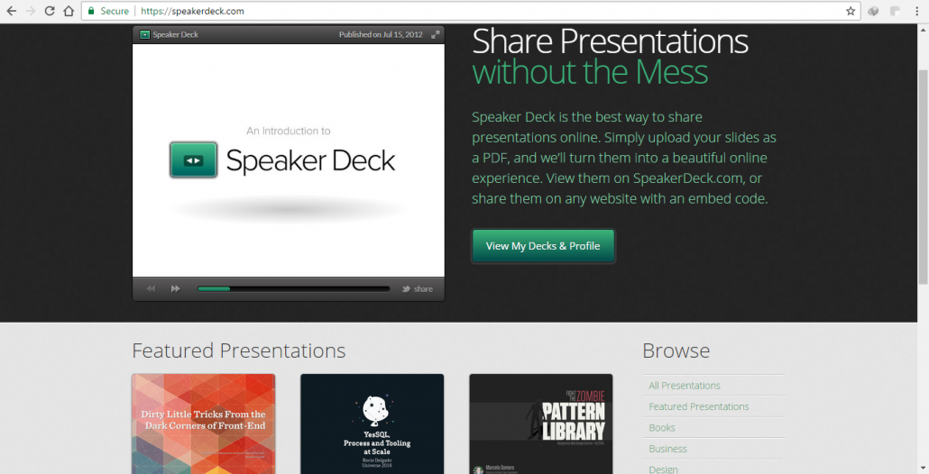 Speakerdeck.com