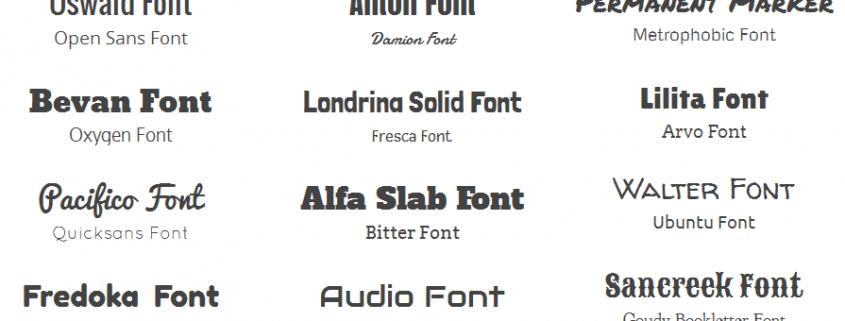 10 Tips Mengkombinasikan Font